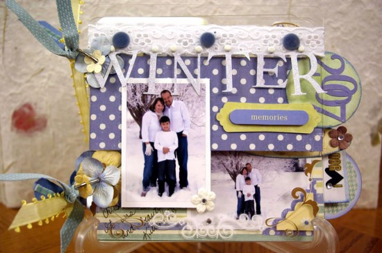Home From West Virginia and Scrapbooking Contest for You!