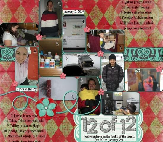 12 of 12 January