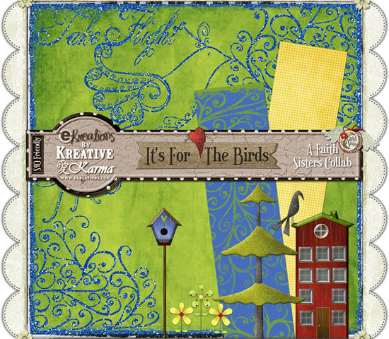 Faith Sisters Blog Train Freebies & National Scrapbooking Day Information!