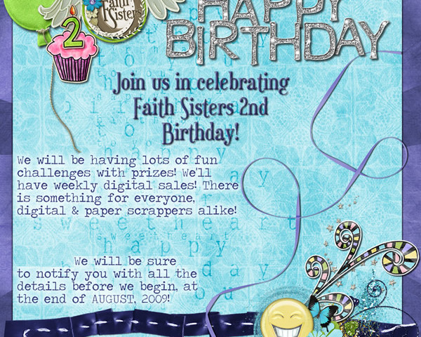 Blog Train and Birthday Bash Announcement!
