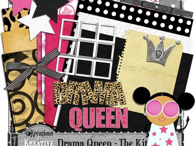 Drama Queen & A Freebie!