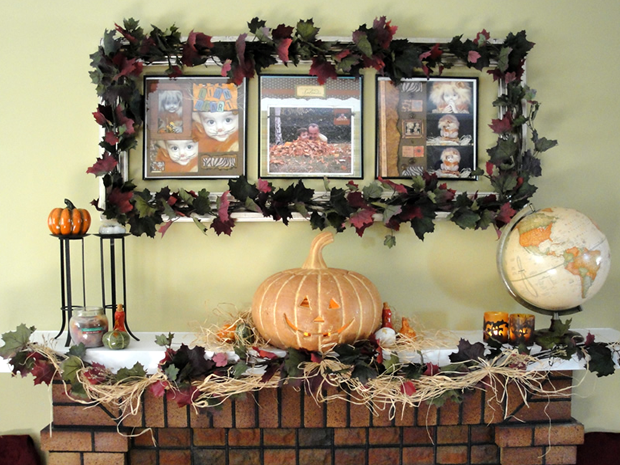 Fall Mantel & Fall Goodies Party! *UPDATE*